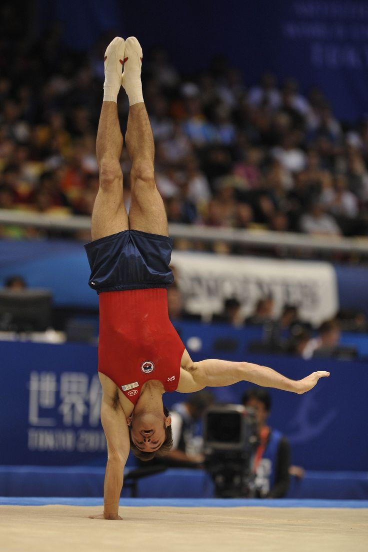 Tomas Gonzalez (CHI), medallista de oro en gimnasia olímpica y artística.