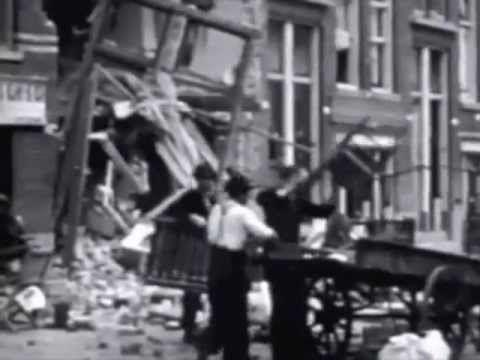 Bombing of Rotterdam - Bombardement op Rotterdam 14 mei 1940 - YouTube