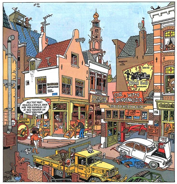 Franka, Amsterdam