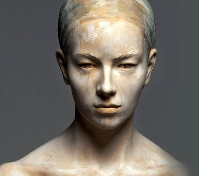 Italian artist Bruno Walpoth comes from a long lineage of woodcarvers. Born in 1959 in Bressanone; Lives in Ortisei; Master Student of Professor Hans Ladner, Academy of Fine Arts, Munich; Walpoth is a freelance sculptor and founder of the group of sculptors TRISMA.