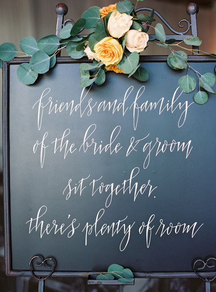 Photography : Charlotte Jenks Lewis Photography | Wedding Planner : A Trendy Wedding | Calligraphy : Meant To Be Calligraphy | Venue : Longview Gallery Read More on SMP: http://www.stylemepretty.com/2016/01/06/modern-elegant-urban-art-gallery-wedding/