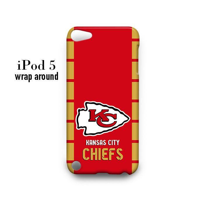 Kansas City Chiefs iPod Touch 5 Case Wrap Around