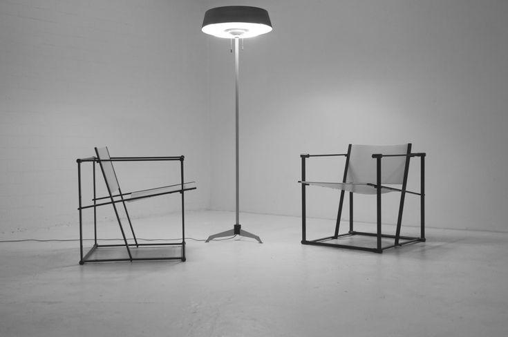 FM61 Lounge Chairs by Radboud van Beekum for Pastoe