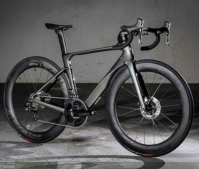 2017 Venge ViAS Disc with Quarq power meter.. Pic @specializedstoremidlands . Follow me on: Instagram @bestbikekit Facebook - bestbikekit Twitter @bestbikekit . #specialized #venge #iamspecialized #vengevias #disc #sram #shimano #quarq #aeroiseverything #quarqpowermeter #baaw #outsideisfree #bikeporn #instabike #instacycling #cycling #cyclingpics #cyclinglife #cyclingphotos #cyclingimages #cyclingfans #gopro #rapha #rcc #bestbikekit #stravacyclingphotos #stravacycling #roadbike #aero #ve...