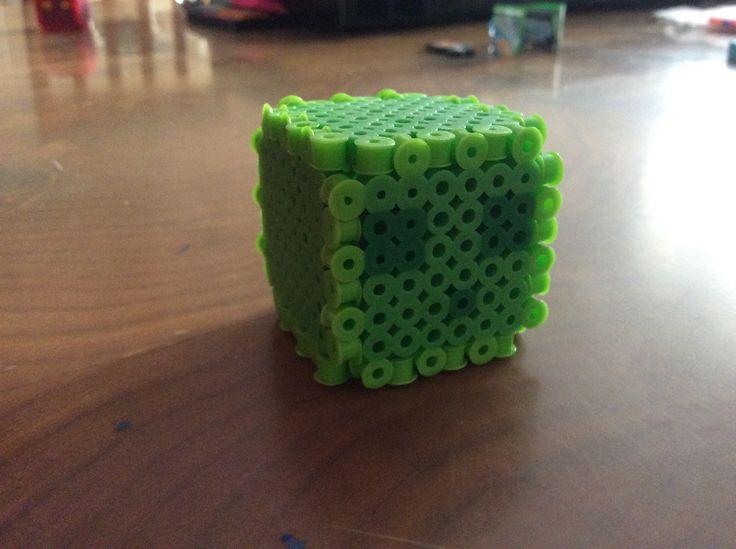 Slime de Minecraft Verde By Jorge Rm