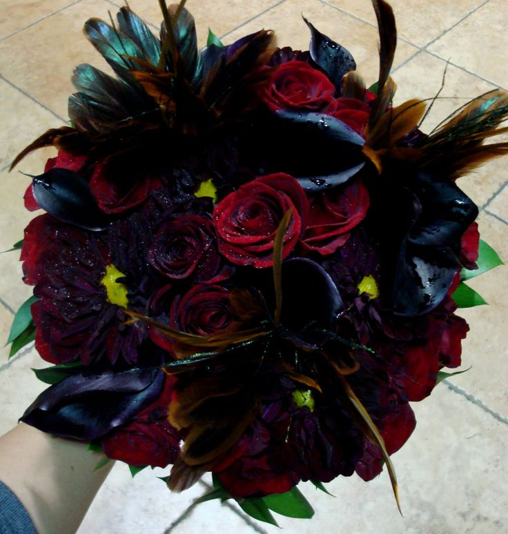 hallowen wedding flowers - Google Search