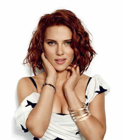 Perfekte rote haare