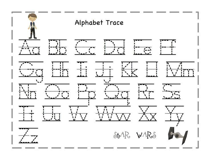 Free Printable Alphabet Letter Tracing Worksheets