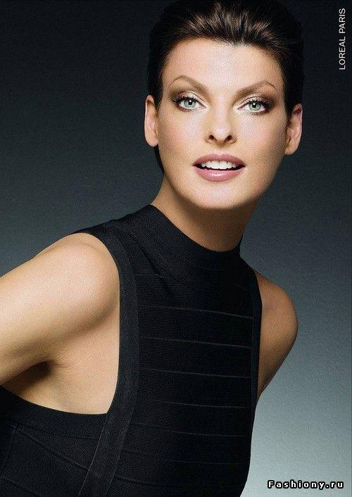Линда Евангелиста в рекламе линии косметики L'Oreal Studio Secrets Professional