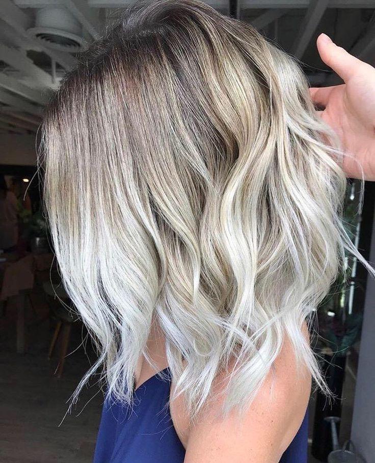 10 kreative Haarfarbideen für mittellanges Haar