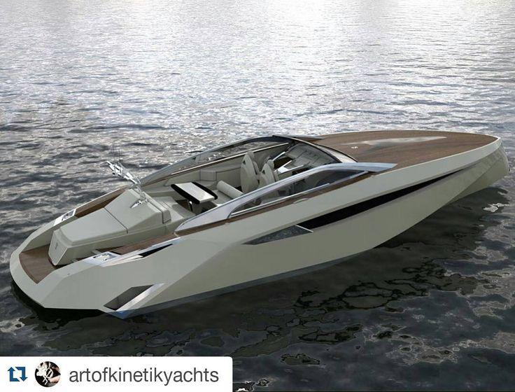 Very stylish open yacht called Alkemist by @artofkinetikyachts  #yacht #superyacht #megayacht #luxury #luxuryyacht #yachts #yachtoftheday #superyachts #megayachts #millionairetoys #billionairetoys #thegoodlife #luxurytoys #rkoi #jacht #boat #yachtlife #yachting #boating #motoryacht #motorjacht #motorboat #instayacht #lifestyle #yachtporn #yate #yatch #boatporn #yachtdesign by yachtemoceans