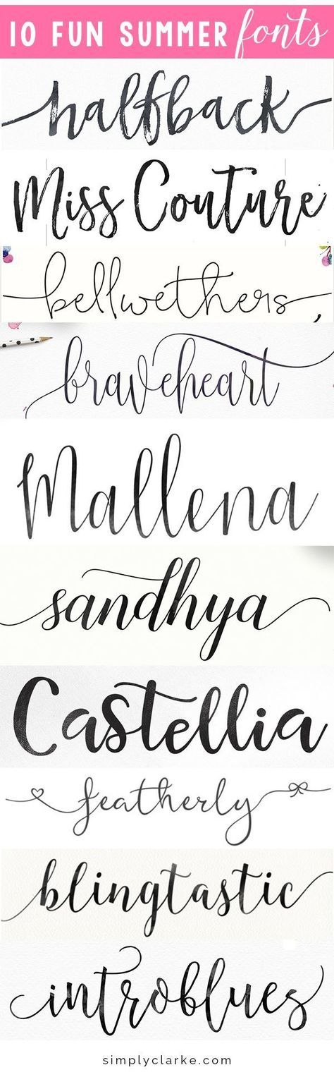 halfback   miss couture   bellwethers   braveheart   sandhya sandhya   castellia   featherly   blingtastic   introblues I have been experimenting with different fonts lately for a few design projects and have been super impressed with all of the great option from Creative Market. As a designer, I have been using creative …
