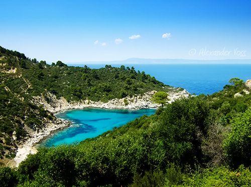 Turquoise heart (Sithonia, Halkidiki, Greece)