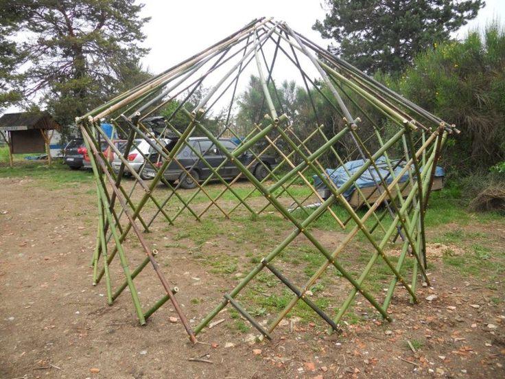 Montage final de la structure