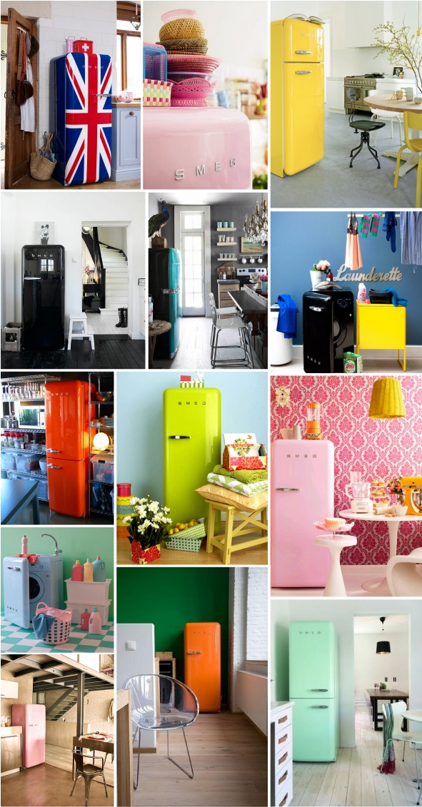Excited over a fridge? Yes. When it's time for us to buy another one, this is it. Good, classic design never dies.