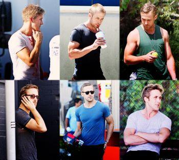 dear ryan gosling,: Eye Candy, Guns, Ryan Gosling3, Stuff, Ef Gosling, Beautiful People, Dear Ryan, Sexy Boys, Paleo Recipes