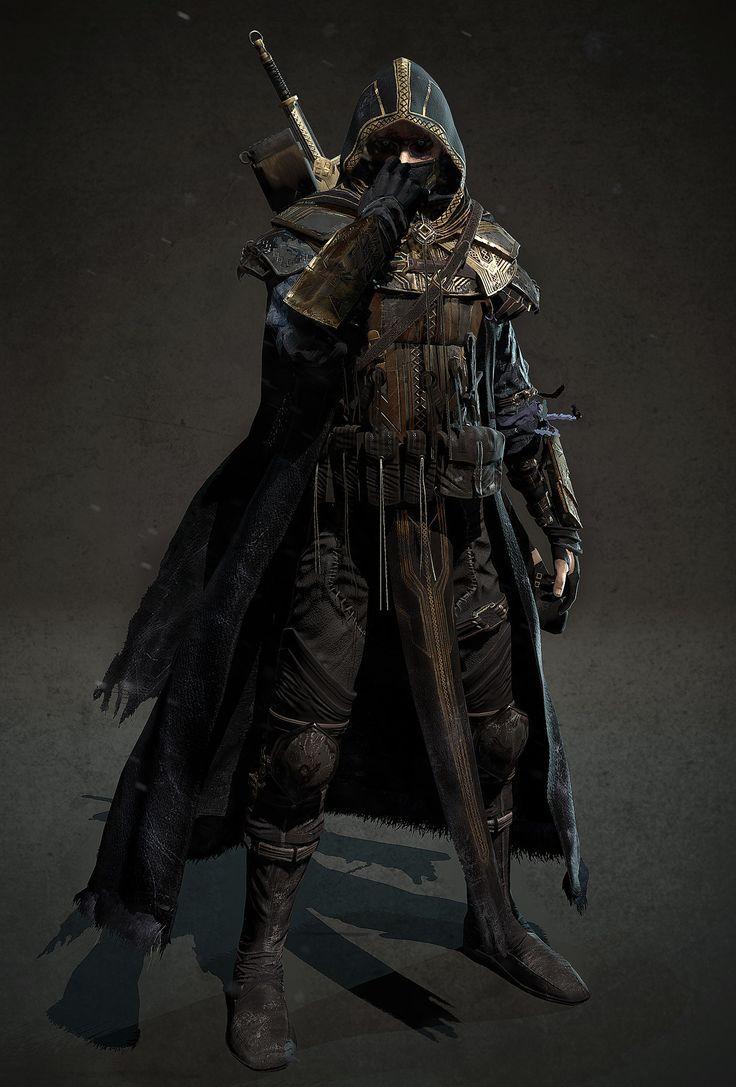 Fallen Aasimar Ranger Monster Slayer In 2019 Fantasy