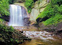 Top 25 NC Waterfalls near Asheville