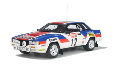 Nissan 240 RS Gr.B TDC83 (Tony Pond) in White (1:18 scale by OttOmobile 183)
