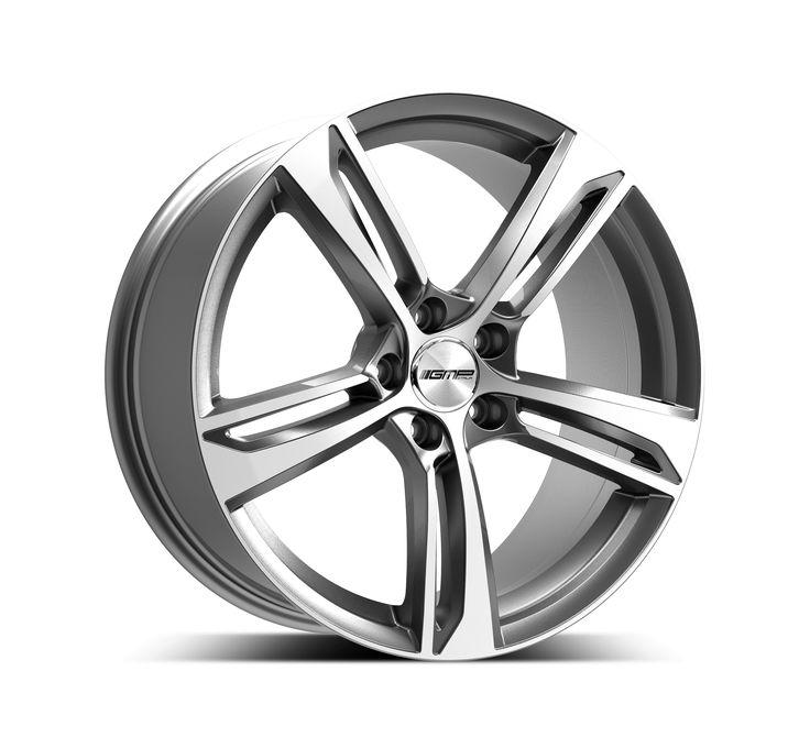 Paky Anthracite Diamond Professional Alloy wheel / Cerchio in lega professionale Paky Antracite Diamantato Side