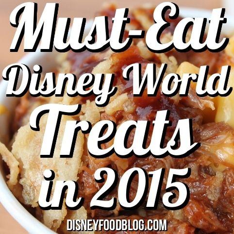 Must Eat Disney World Treats 2015 - Disney Food Blog (Did someone say Hawaiian shave ice?!)