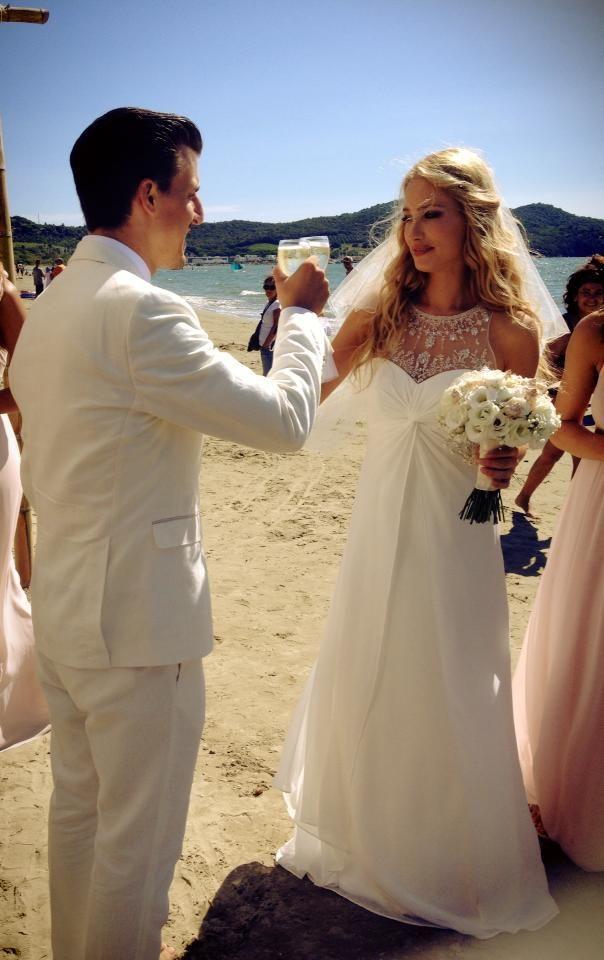 Trauung am Strand in der Toskana   Heiraten in Italien: Hochzeit in der Toskana