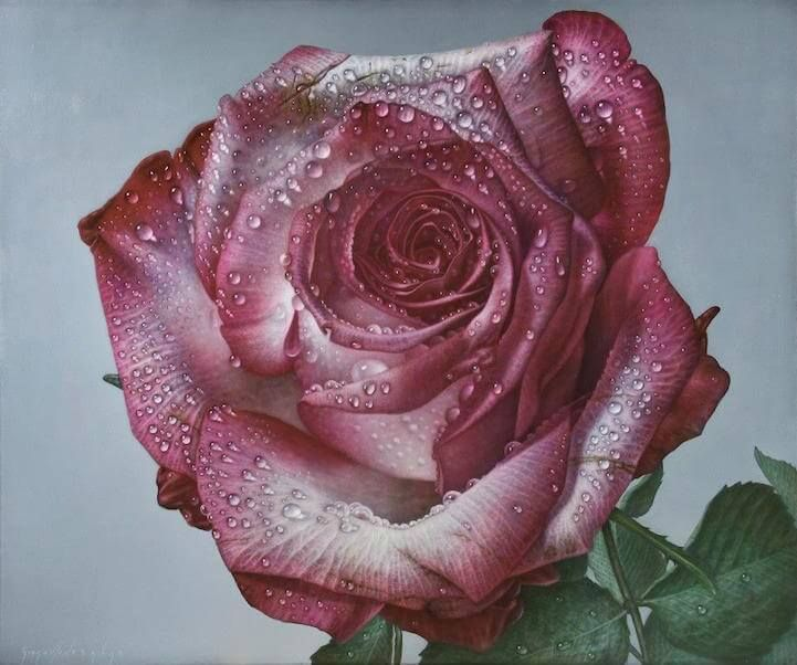 Artist Gioacchino Passini takes a usual blank canvas and changes it into a larger-than-life garden of roses. The petals appear smooth and flexible, an effect that raised by the flowers' bright coloring. Passini's large-scale paintings not only allow audiences close-up look at the beauty of flowers, but they are also a way for the artist …