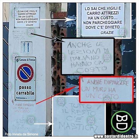 Tutto ha un costo!  Seguici su youtube/bastardidentro (Clicca in bio) #bastardidentro #cartello #parcheggio www.bastardidentro.it