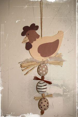 mobile poule de Pâques