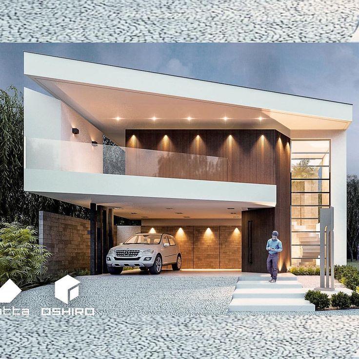 Projeto Novo. #oshiroarquitetura #oshiroarchitect #projetonosso #residencia #arquitetura #arquiteto #ms #fachada #modern #facade