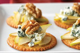 Pear & Blue Cheese Appetizers recipe
