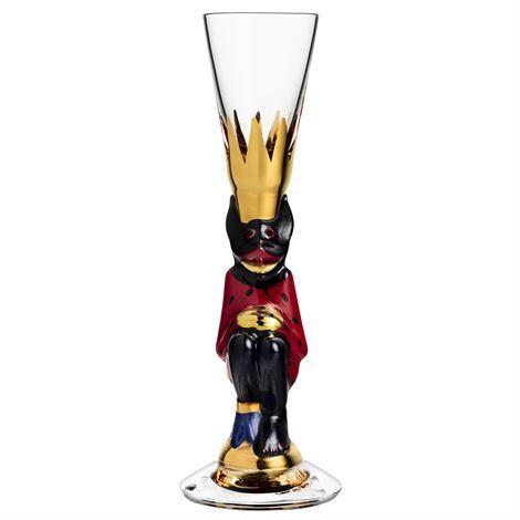 Nobel Snaps glass - red - Orrefors