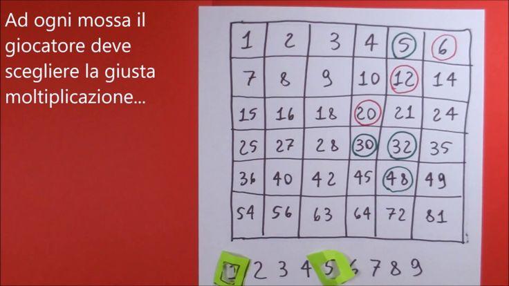 Imparare la Matematica Giocando: Forza 4 Tabelline