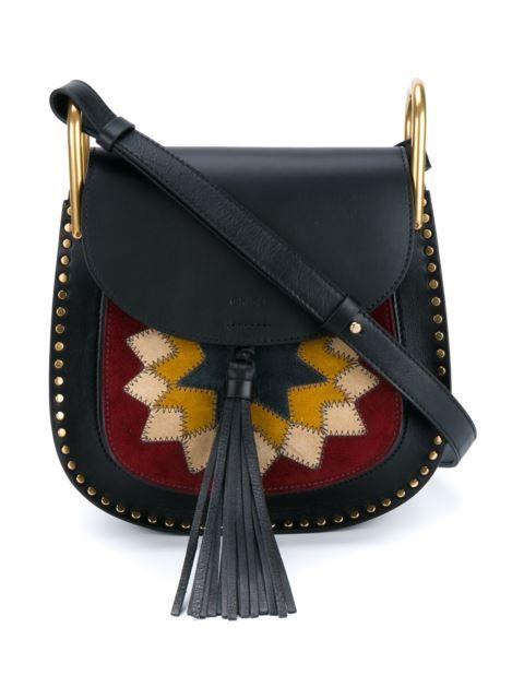 """Achetez+Chloé+sac+porté+épaule+""""Hudson""""+en+Browns+from+the+world's+best+independent+boutiques+at+farfetch.com.+Découvrez+400+boutiques+à+la+même+adresse."""