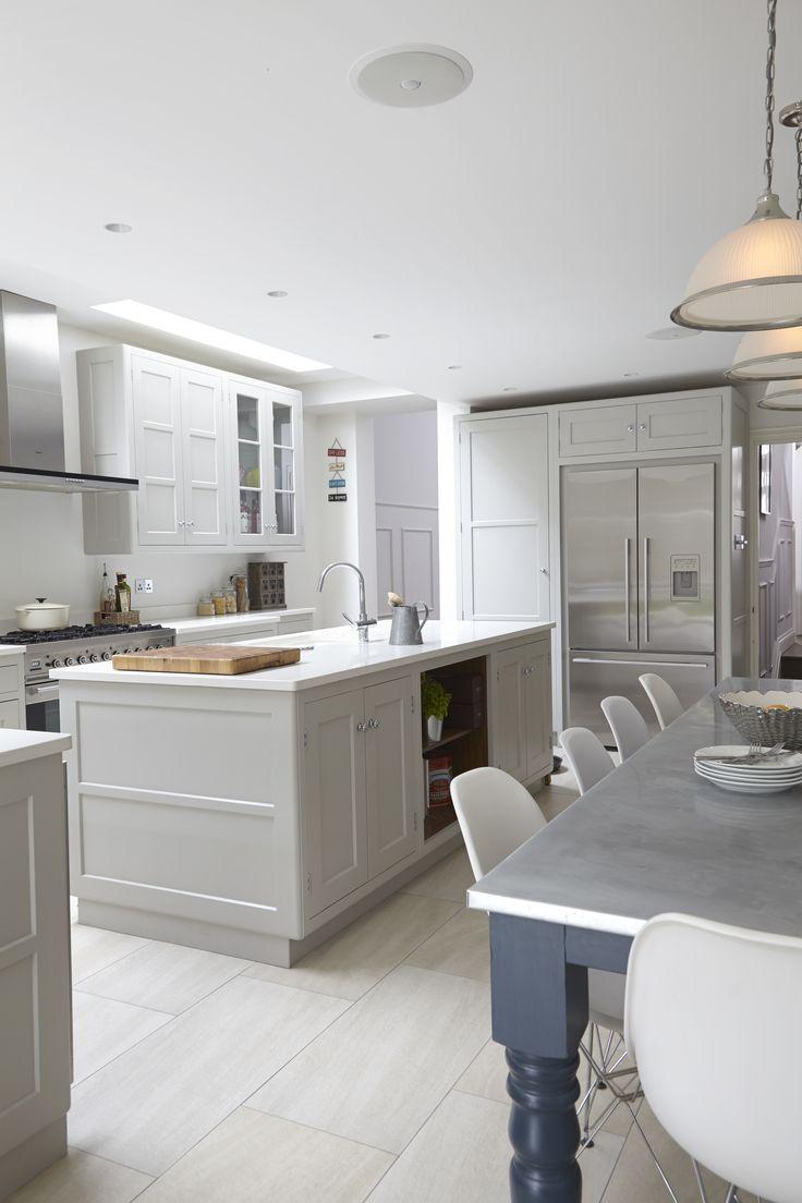 46 best Kitchen images on Pinterest | Kitchen dining, Grey shaker ...