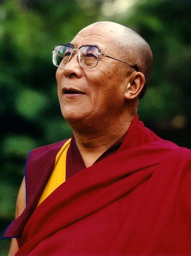 I just want to sit and smile and laugh with the 14th Dalai Lama, Tenzin Gyatso. He wouldn't even have to say anything.