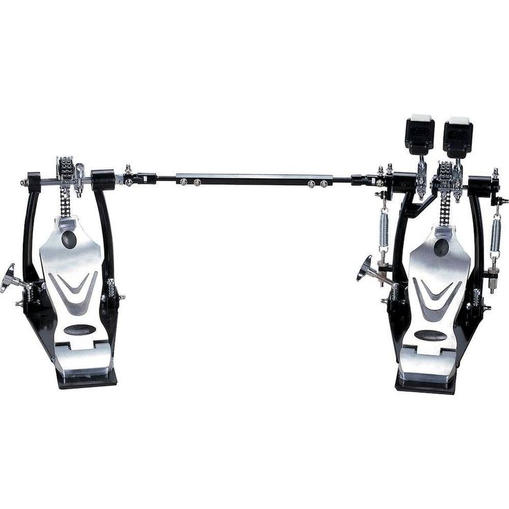 Union - 700 Series Double Chain Bass Drum Pedals - Gray