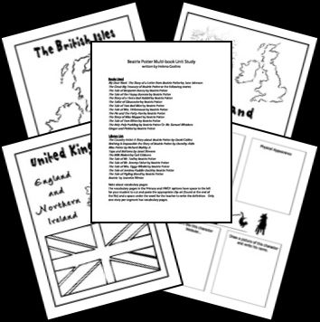 Free Beatrix Potter Printables and Unit Resources
