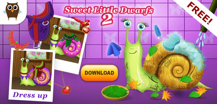 "We just released the game and already have a fifth place in the list of games the top new free! it's great news! Do you played in the ""Sweet little Dwarfs 2""? #Gamedev #indiedev #kidsapps #edapps #game #gameplay #gnome #dwarf #beautiful #googleplay #itunes #amazon #android #ios #play #sweet #little #milla #kids #children #kidsapps #cute #dressup #makeup #happy #kingdom #snail #free"