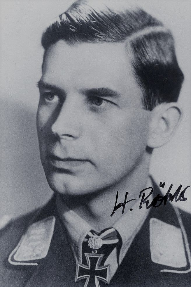 Oberleutnant Heinz Rökker (1920-), Staffelkapitän 2./Nachtjagdgeschwader 2, Ritterkreuz 27.07.1944, Eichenlaub (781) 12.03.1945