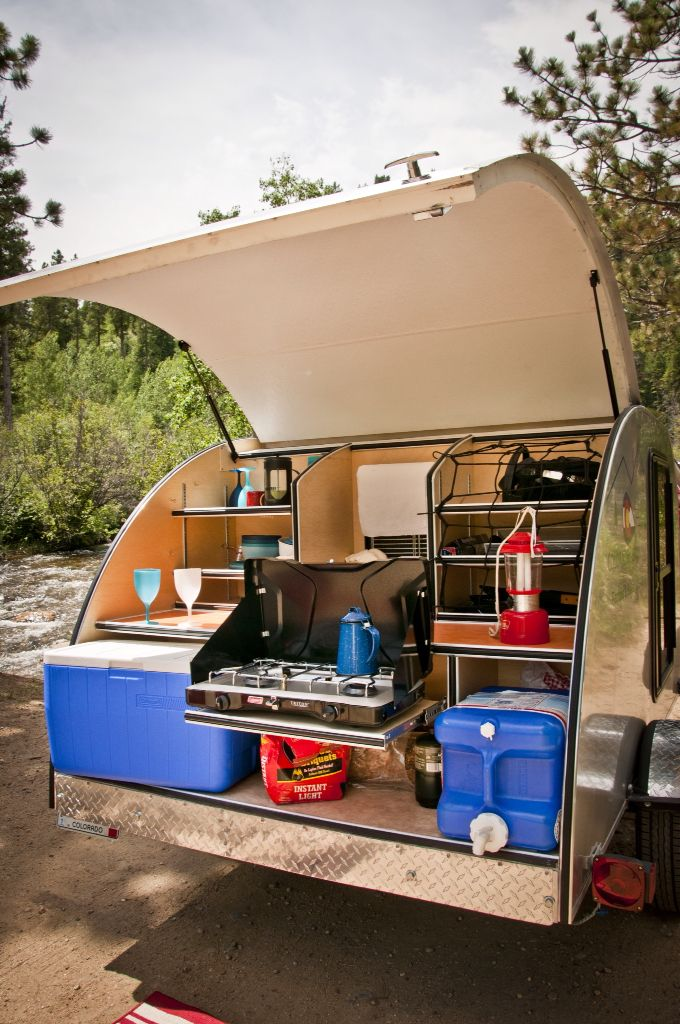 Truck Camper Plans Build Yourself: Kitchen Galley Fully Customizable