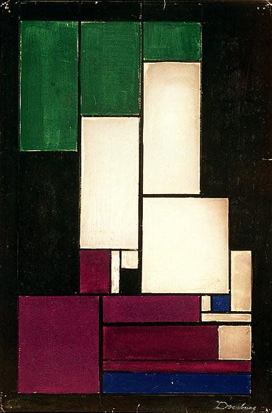 Theo van Doesburg (1883-1931) - Composition (1922)