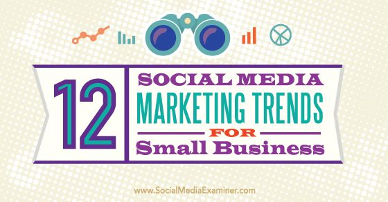 Over 90% of small business owners believes social media is critical for their business:-----12 small business social media marketing trends