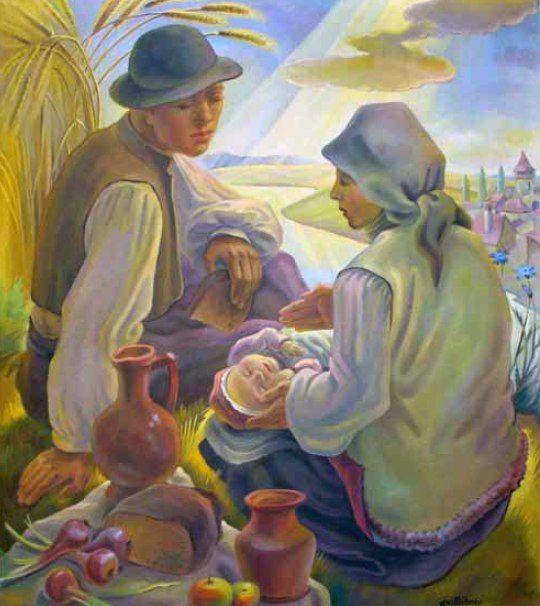 Karl Hübner / Карл Хюбнер (1902-1981) Румыния.
