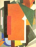Painterly Architectonics, 1916-17  by Lyubov Popova