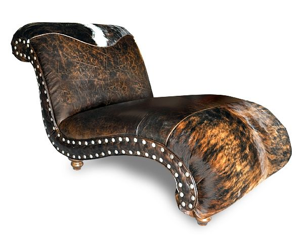 147 best images about eclectic cowhide decor on pinterest for Chaise western