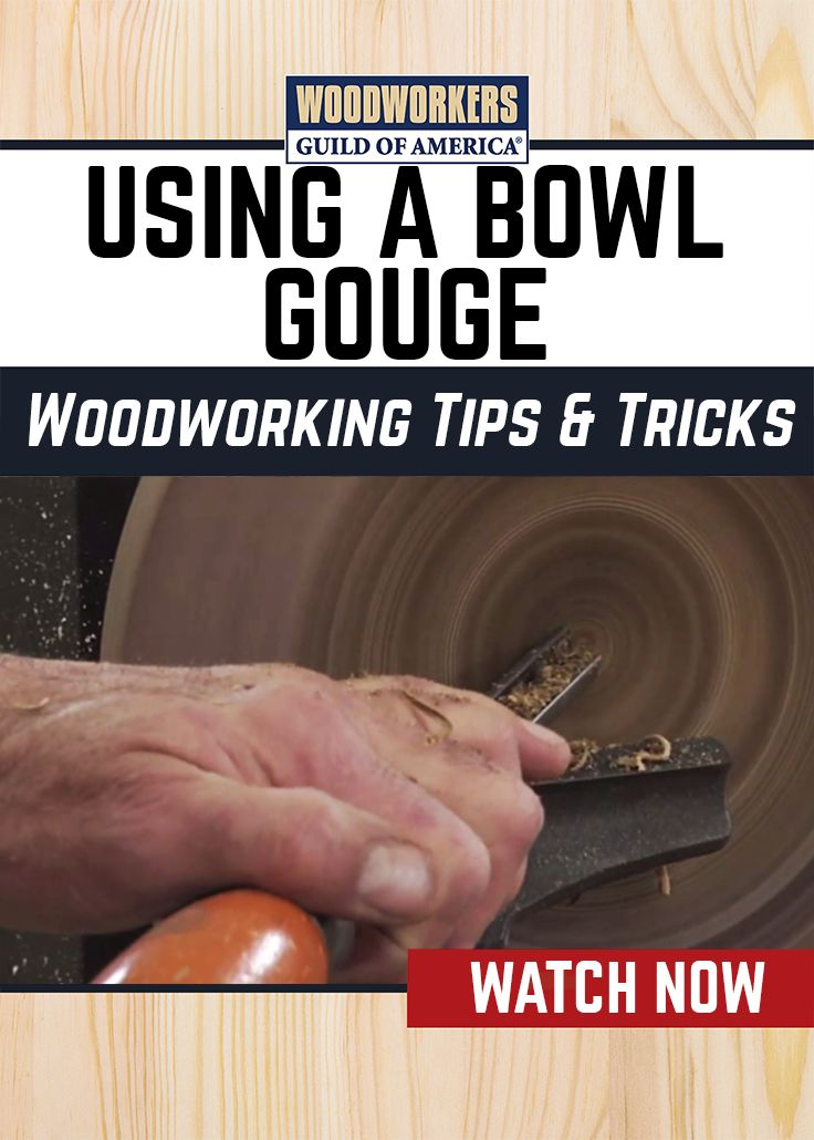 George Vondriska puts a piece of wet walnut onto the lathe to demonstrate the benefits of using a bowl gouge to hollow out the interior of a bowl instead of a chisel. Using a GoPro, we give you a close-up look at George's technique so that you can fully understand how to utilize a bowl gouge for your woodworking needs.