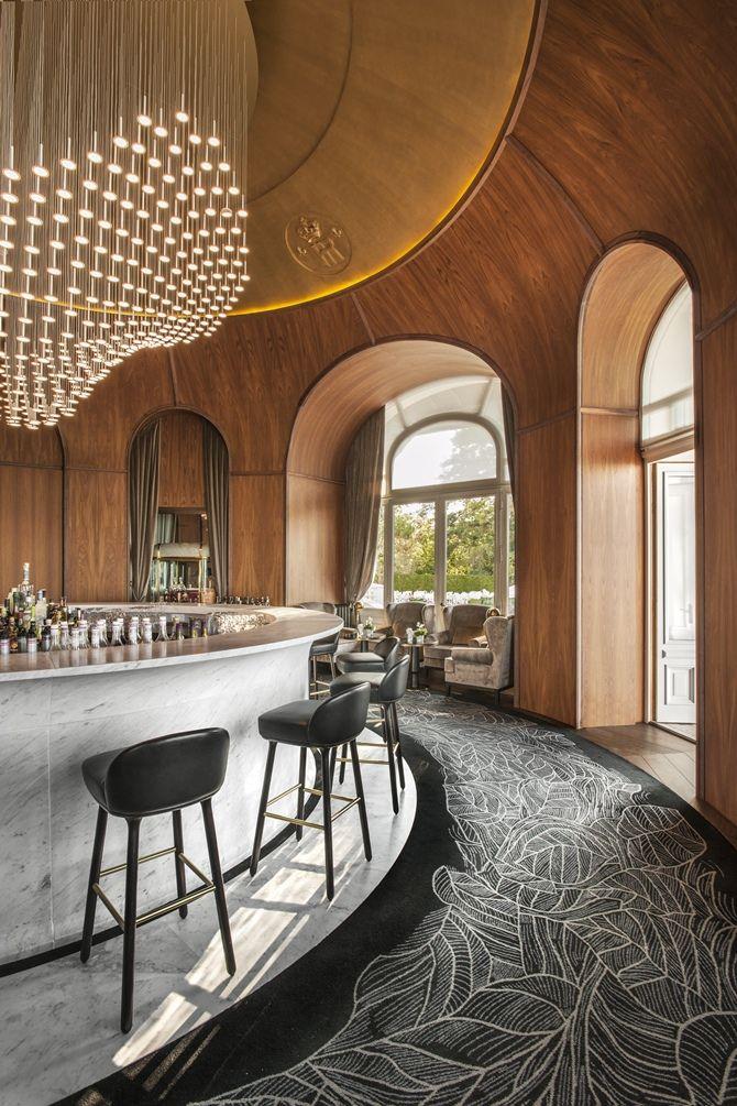 François Champsaur assina a renovação do Hotel Royal Evian  Floor Design Idea