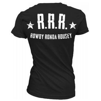 UFC Womens Rowdy Ronda Rousey 175 Walkout Shirt,
