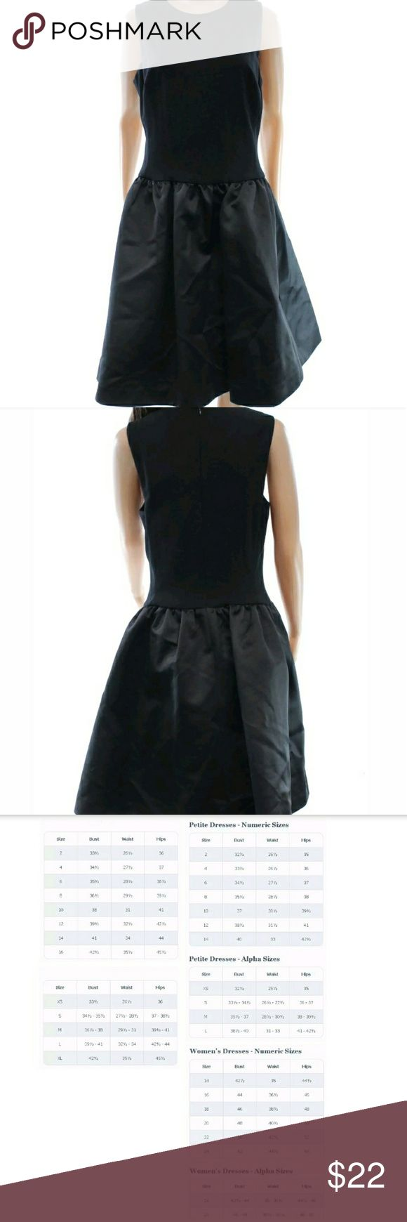 RALPH LAUREN  BLACK WOMEN'S DRESS SIZE 18 PLUS LAUREN RALPH LAUREN NEW BLACK WOMEN'S SIZE 18 PLUS SATIN-SKIRT DRESS  Check the pictures for measurements.   RETAIL PRICE  $198.00  Brand:Lauren Ralph Lauren Condition:New with tags   Category:Dresses  Color: Blacks Size Type: Plus Size (Women's): 18 Lined: Yes Sleeve Style: Sleeveless Occasion: Cocktail Style: Sheath Dress Length: Above Knee, Mini Material: 100% Polyester Zipper: Back Zipper Ralph Lauren Dresses High Low